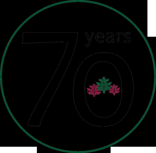 70 Years Celebration Logo