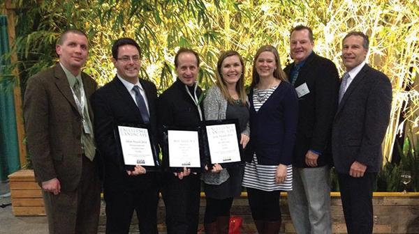 Clarence Davids & Company team at ILCA awards ceremony