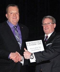 Bill Davids is awarded ILCA Person Of The Year